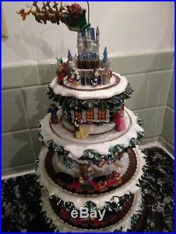 Disney Tabletop Christmas Tree The Wonderful World Of Disney Hawthorne Village