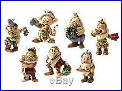 Disney Traditions A9039 Seven Dwarfs Christmas Tree Decorations NEW 13652