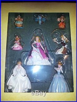 Disney's Storybook Princess Cinderella 8 Ornament Set