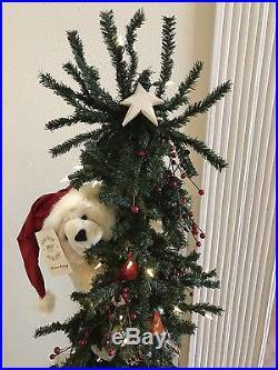 Ditz Designs Christmas Tree Bear Peek A Boo Polar 65 Tall