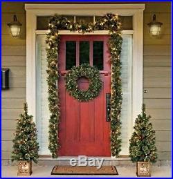 Door Christmas Decoration 5 Piece Holiday Entryway Set