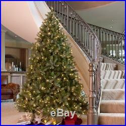 Downswept Douglas Fir Medium Pre-lit Christmas Tree, 10 ft. Clear Pre-lit