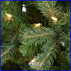 Downswept Douglas Fir Medium Pre-lit Christmas Tree, 7.5 ft. Pre-lit