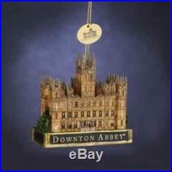 Downton Abbey Castle Ornament 3.5-Inch