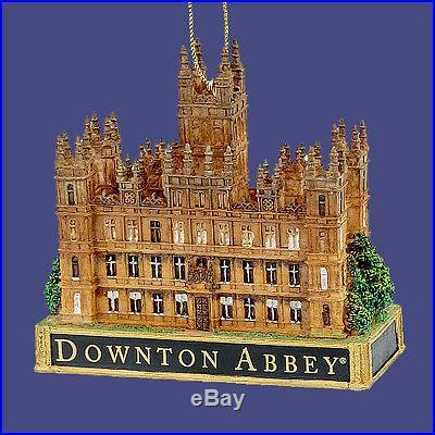 Downton Abbey Christmas Ornament Highclere Castle Abby New