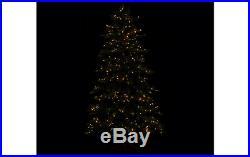 ED On Air Santa's Best 7.5′ Rustic Spruce Tree by Ellen DeGeneres H209427