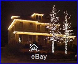 EasyGo Large Outdoor Nativity Scene Large Christmas Yard Decoration Set