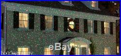 Elf Light Laser Show House Projector Xmas Christmas Holiday Patio Pool Decor New