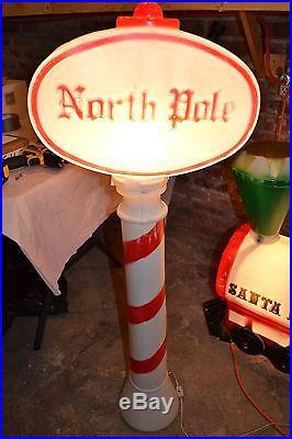 Empire Santa Train North Pole Indoor Outdoor Lighted Blow