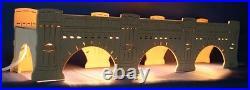 Erhöhung Sockel Augustusbrücke Dresden 54cm für Schwibbogen Erzgebirge Unterbank