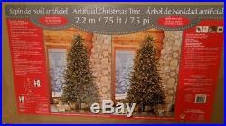 Ez Connect 7.5′ Pre-lit Led Dual Color Christmas Tree 010 Costco