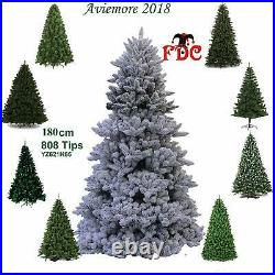 FDC Artificial Tree Artificial Christmas Tree Snow Flocked Aviemore 1.8m