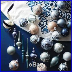 Frontgate French Blue And Linen 60-pc. Ornament Collection