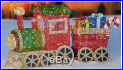 Fabric Mesh Train with LED Lights 68inch L x 35inch H