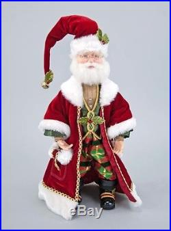 Fabulous Santa w Sleigh Christmas Katherines Collection 28-728461 & 28-728539
