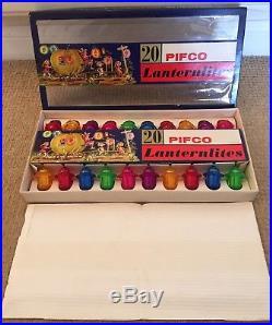 Fantastic Vintage 1960′s Pifco 20 Lanternlites Christmas Lights