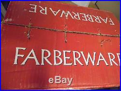 Farberware white christmas 50 pc service for 8 NIB #391