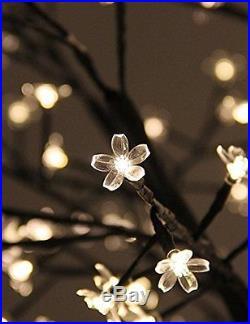 Fashionlite 8FT 600 LED Cherry Blossom Flower Tree Light Decoration Home/Part