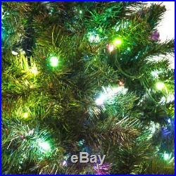 Fiber Optic Pre Lit Christmas Tree 3 4 5 67 Ft 350