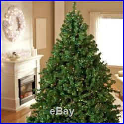 Finley Home 7.5′ Classic Pine Full Pre-Lit Multi-Color Artificial Christmas Tree