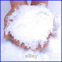Fluffy Instant Xmas Magic Snow Powder Artificial Christmas Decoration Fake