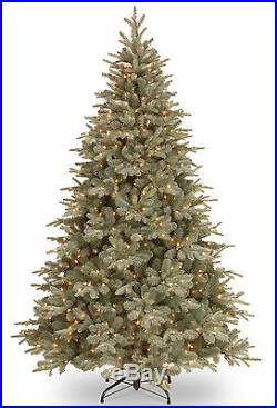 Frosted Arctic 7.5′ Spruce Artificial Christmas Tree with 750 Clear Lights