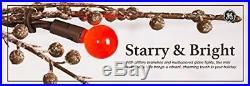 GE 200-Light Brown 6.5' Winterberry Tree with LED Sugar Plum Lights, Christmas