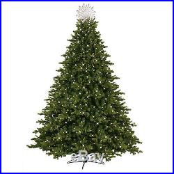 GE 7.5′ Pre-Lit Just Cut Norway Spruce with800 Dual Color ...