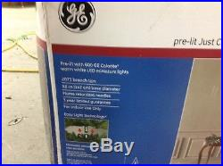 GE 7.5′ Pre Lit LED White Lights Just Cut Medium Frasier ...