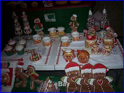 Gingerbread And More Gingerbread 45 Piece Whole Lot From