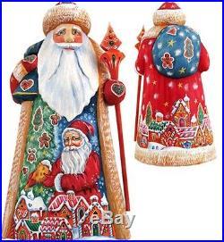 G Debrekht Masterpiece Candy Coated Christmas Figurine