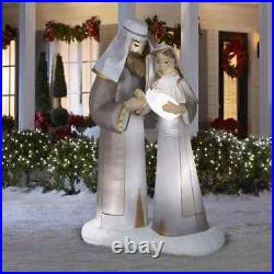 Gemmy 6.5 Ft Airblown Lighted Christmas Nativity Scene Inflatable Outdoor Decor