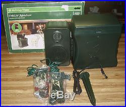 Gemmy Holiday Musical Light Show With Timer & MP3 Port/NEW IN BOX