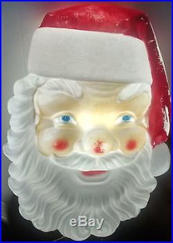 Giant Santa Claus Christmas Roof Ornament? Huge Santa Roof Peak Light? Xmas Light
