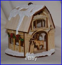 Ginger Cottages Reindeer Barn GC114