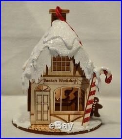 Ginger Cottages Santa's Workshop GC106