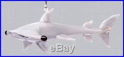 Glassdelights Hammerhead Shark Sea Life Glass Christmas Ornament Decoration New
