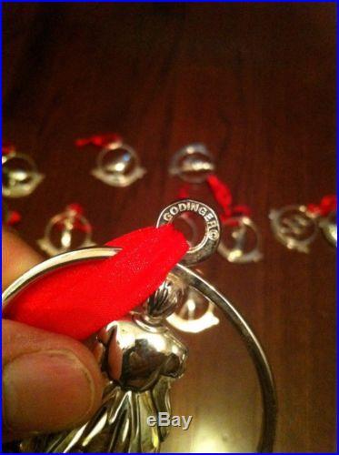 Godinger 12 Days Of Christmas Metal Ornaments