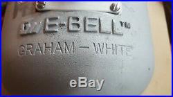 Graham White Electronic trains bells E-bell 373 series train bell New