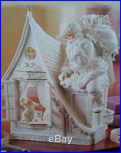 Grandeur Noel Collectors Edition 2003 White Porcelain Gold