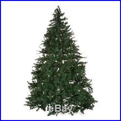 Green Multi-Color Pre-Lit 7.5' Artificial Christmas Tree Home Holiday Decor