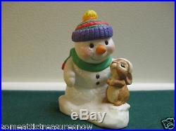 HALLMARK SNOW MAN 1998 CHRISTMAS TREE ORNAMENT
