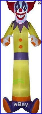 HALLOWEEN 12 FT Kaleidoscope SCARY CLOWN Airblown Inflatable YARD DECORATION