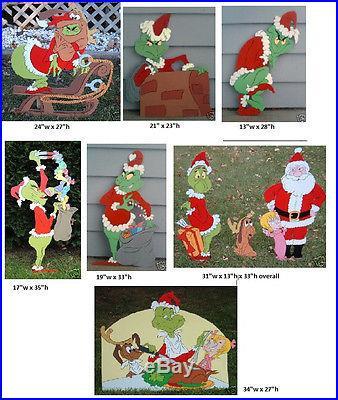 Christmas yard decorations patterns free patterns for Holiday yard decorations patterns
