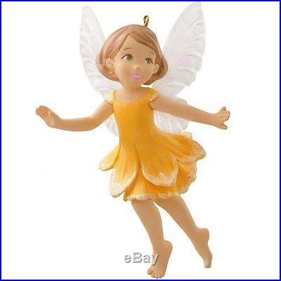 Hallmark 2014 Daffodil Fairy Ornament