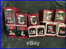 Hallmark FROSTY FRIENDS Ornaments 1980-1984 & through 2000 plus BONUS PIECES