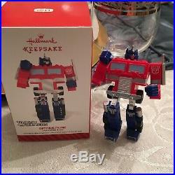 Hallmark Optimus Prime Transformers 2014 Keepsake Ornament
