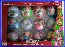 Hallmark Rudolph Twelve Days of Christmas Ornaments, Misfit Toys NEW