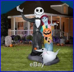 Halloween GIANT Nightmare before Christmas 6 Airblown Inflatable Yard Decor