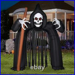 Halloween Inflatable Archway Arch Haunted House, 10.26 Ft Blow up Halloween